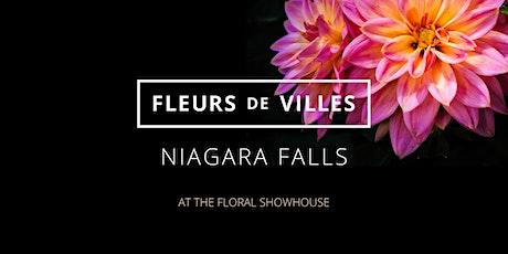 Fleurs de Villes Niagara Falls: Dried & Preserved Flower Wreath Workshop tickets