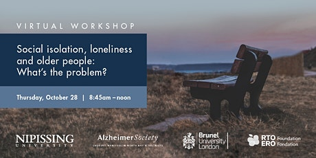 Social isolation, loneliness, and older people: What's the problem? tickets