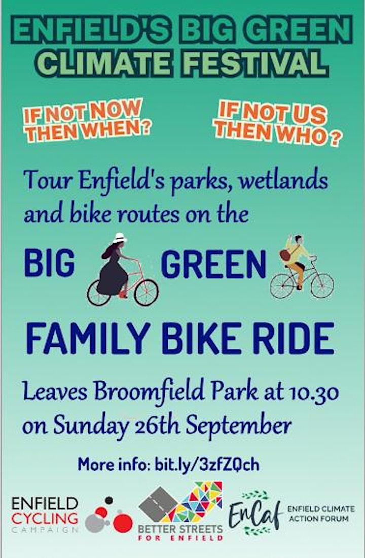 Enfield's Big Green Family Bike Ride image