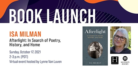 Book Launch: Afterlight by Isa Milman tickets