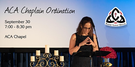 Ordination Service for ACA Chaplain tickets