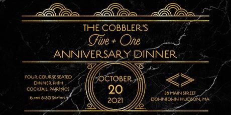 The Cobbler's 5+1 Anniversary Dinner tickets