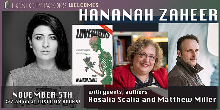 Lovebirds by Hananah Zaheer with guests Rosalia Scalia and Matthew Miller image
