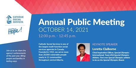 Catholic Social Services 2020/21 Annual Public Meeting tickets