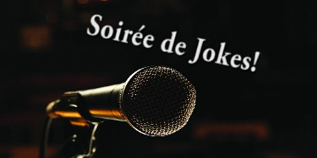 Soirées de jokes billets