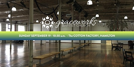 Graceworks LIVE at the Cotton Factory - Sunday September 19 tickets
