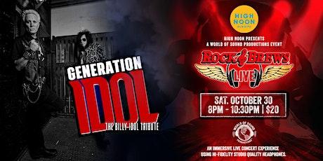 GENERATION IDOL: Billy Idol Tribute Band tickets