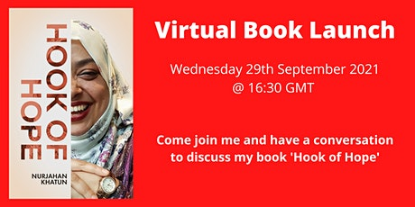 Hook of Hope Virtual Book Launch tickets