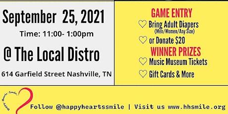 HAPPY HEARTS SMILE Presents...Music Bingo tickets