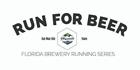 Beer Run - Playalinda Brewing Co| 2021-2022  FL Brewery Running Series tickets