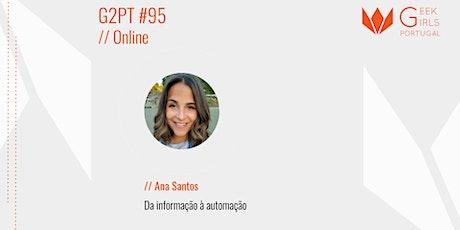 G2PT95 - 95º Geek Girls Portugal Online billets
