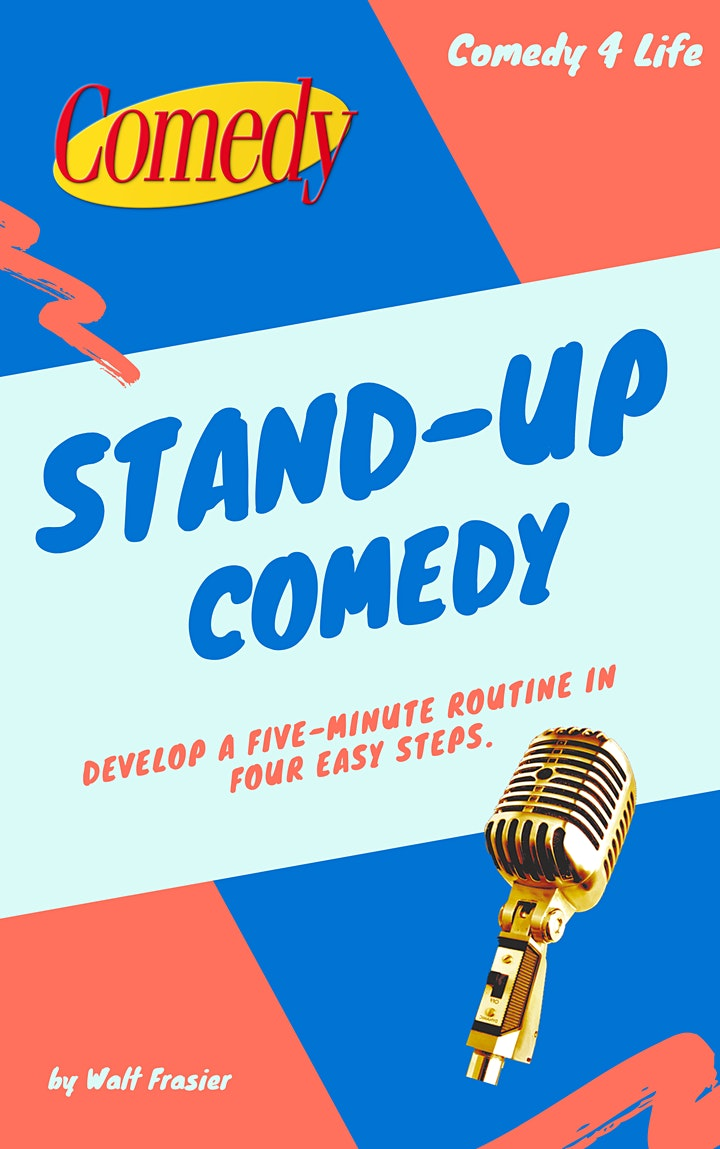 ONLINE COMEDY CLASSES October/November 2021 Adults (16+ Welcome) image