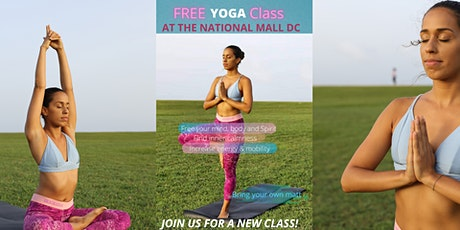FREE YOGA Class at The National Mall DC tickets
