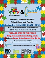 Special Needs & Different Abilities Talent Show & Pop Up tickets