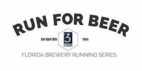 Beer Run - 3 Bridges Brewing | 2021-2022  FL Brewery Running Series tickets