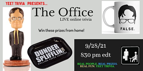 The Office LIVE Virtual Trivia tickets