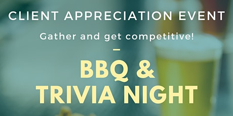 Fall Client Event- Live Trivia & BBQ Night tickets