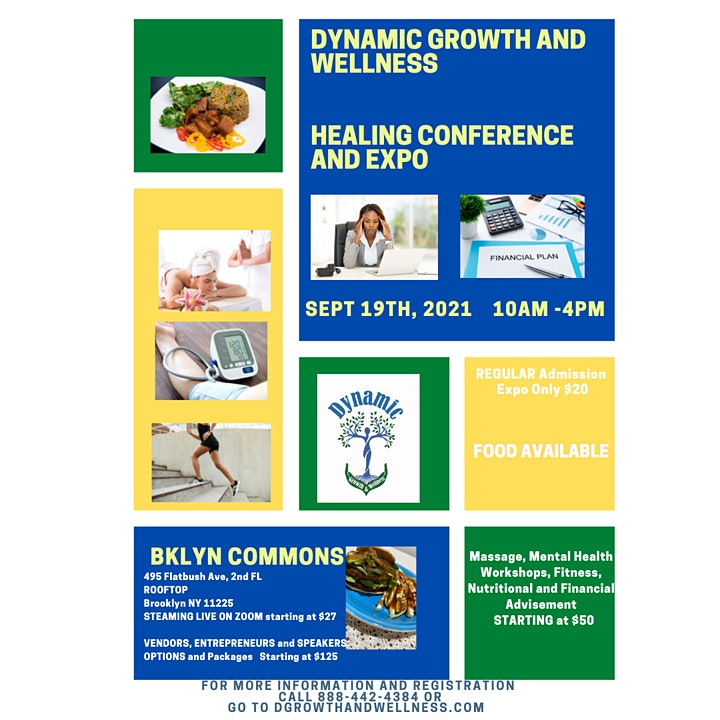 Dynamic Growth & Wellness Healing Conference and Expo image