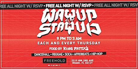 WAYUP Thursday's @ Freehold Miami tickets