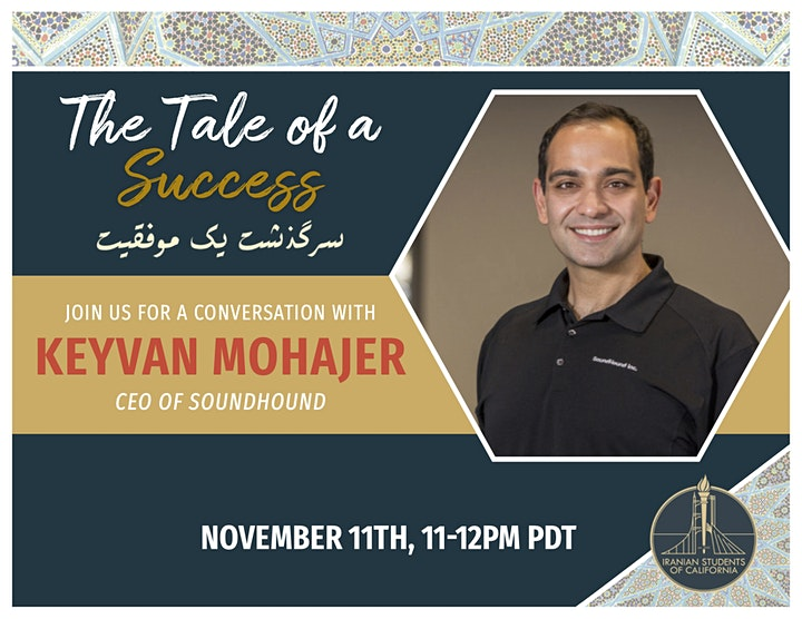 The Tale of a Success with Keyvan Mohajer image