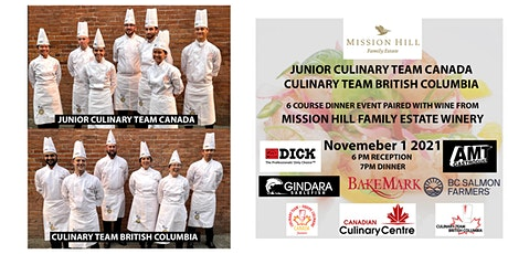Junior Culinary Team Canada & Culinary Team BC Cook @  Mission Hill Winery tickets
