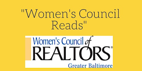 Greater Baltimore WCR-Women's Council Reads Bookclub In-person discussion tickets