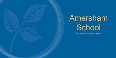 Amersham School Open Evening - Session 1 (5:00pm - 6:30pm) tickets