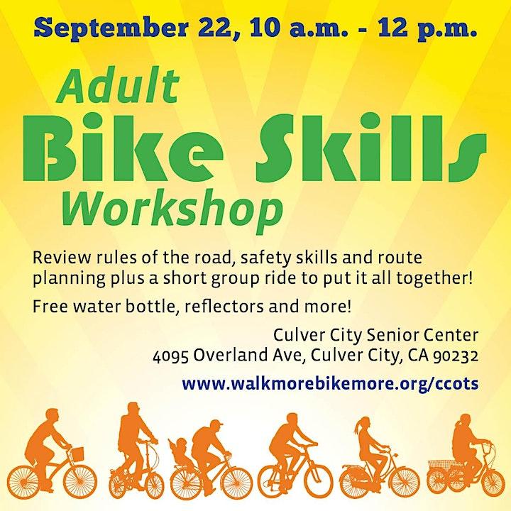 Adult Bike Skills Workshop + Ride image