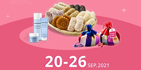 Celebrate Chuseok Festival (Mid-Autumn Festival) 2021 with Glam Touch tickets