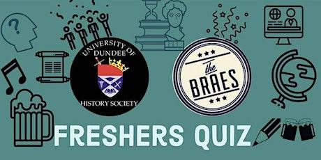 History Fresher's Quiz tickets