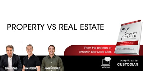 Property vs Real Estate - Ray White Sutherland Shire vent 28Sep21 tickets