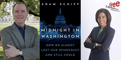 VIRTUAL - Adam Schiff   Midnight in Washington: How We Almost Lost Our... tickets
