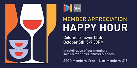 SEGD Membership Appreciation Event tickets