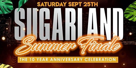 SUGARLAND | SUMMER FINALE 10 Year Anniversary tickets