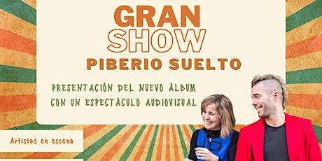 """Show """"Piberío suelto"""" de Sin Cordones entradas"""