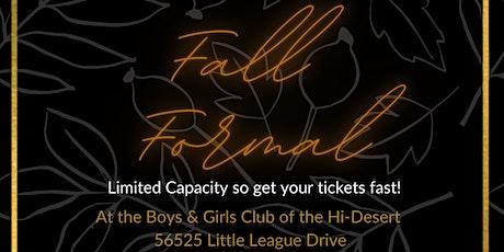 Boys & Girls Club of the Hi-Desert's Fall Formal tickets