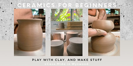 Pottery for Beginners (Wheel Throwing Class @Casa.Mida in Wynwood) tickets