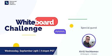 VDC : Whiteboard Challenge tickets
