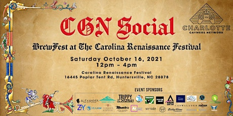 CGN Social: CGN goes to RenFest! tickets
