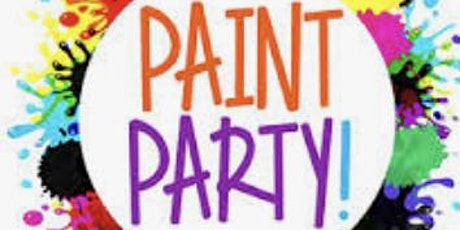 Mix and Mingle Adult Sip and Paint Party tickets
