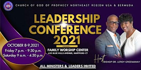 COGOP Northeast Region USA & Bermuda | 2021 Leadership Conference tickets