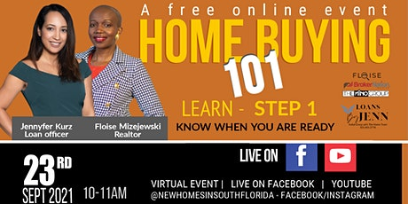HOME BUYING 101 - Know When You Are Ready. tickets