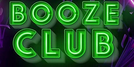 Booze Club tickets
