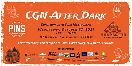 CGN After Dark: Pins Mechanical Edition! tickets