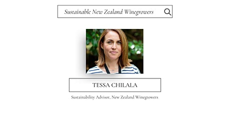 Sustainability in Wine: Sustainable Wines of New Zealand tickets