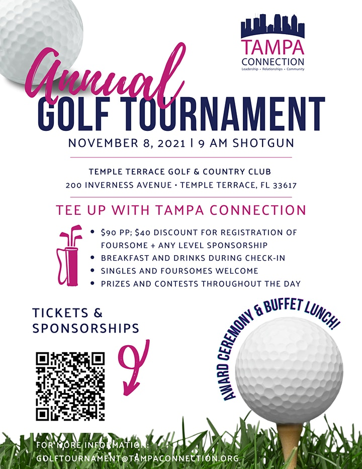 Tampa Connection Annual Golf Tournament image