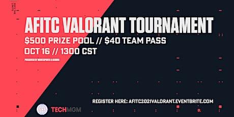 AFITC 2021 Valorant Tournament tickets