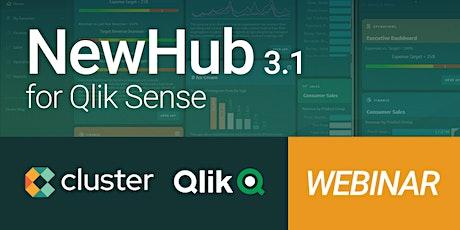 [Webinar] NewHub 3.1 para Qlik Sense tickets