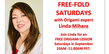 Free Fold Origami Saturday - 'Me and My Shadow' by Fred Rohm tickets