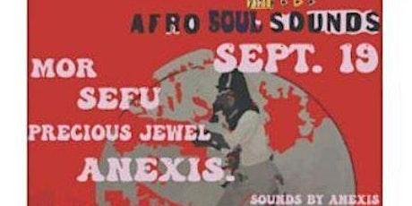 AFRO SOUL SOUNDS VIRTUAL TIX tickets